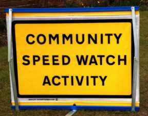 Join in the Sawley Community Speedwatch initiative