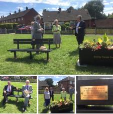 Dedication of Living memorial to the late Cllr Bill Camm